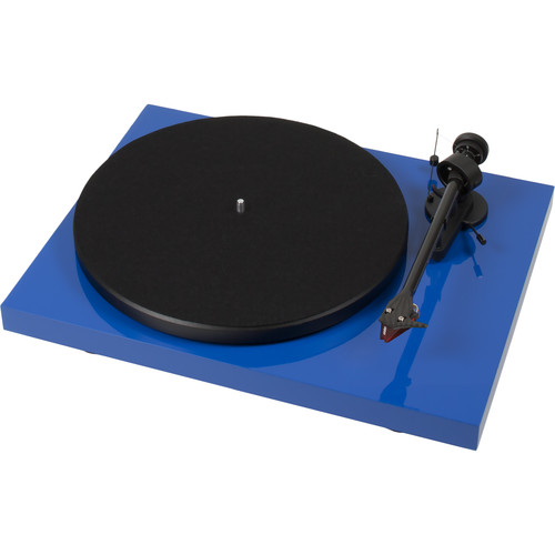 "Pro-Ject Audio Systems Debut Carbon DC Turntable with 8.6"" Carbon Fiber Tonearm (Blue)"