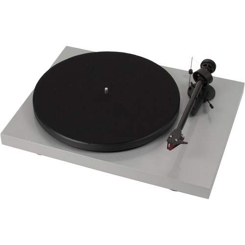 """Pro-Ject Audio Systems Debut Carbon DC Turntable with 8.6"""" Carbon Fiber Tonearm (Silver)"""