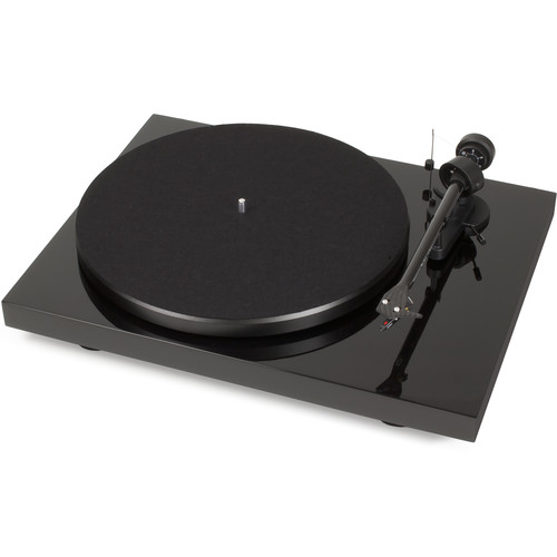 "Pro-Ject Audio Systems Debut Carbon DC Turntable with 8.6"" Carbon Fiber Tonearm and USB (Black)"