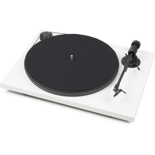 Pro-Ject Audio Systems Primary Phono USB Turntable (White)