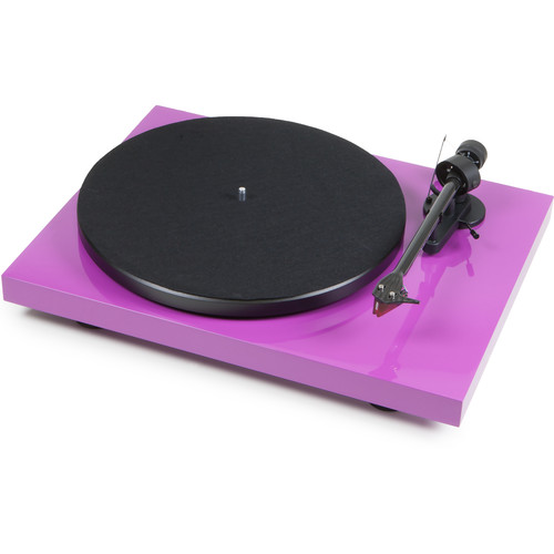 "Pro-Ject Audio Systems Debut Carbon DC Turntable with 8.6"" Carbon Fiber Tonearm (Purple)"