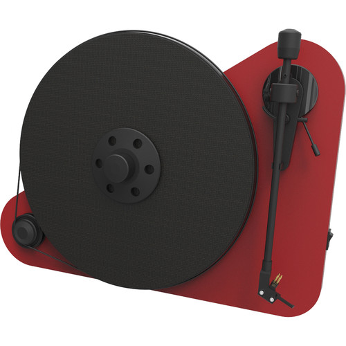 Pro-Ject Audio Systems VT-E Vertical Turntable (Matte Red)