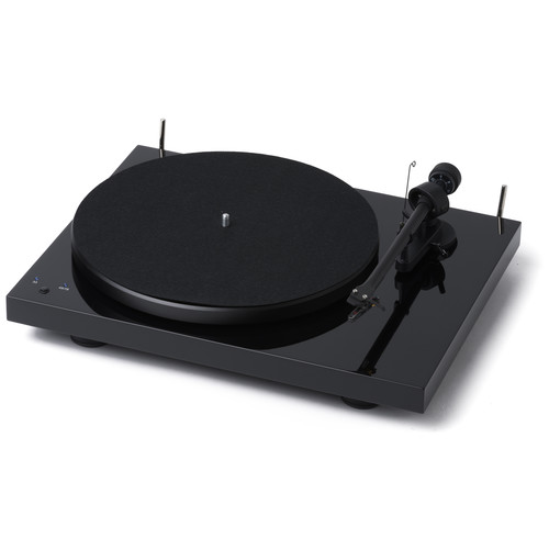 Pro-Ject Audio Systems Debut RecordMaster Turntable (Piano Black)