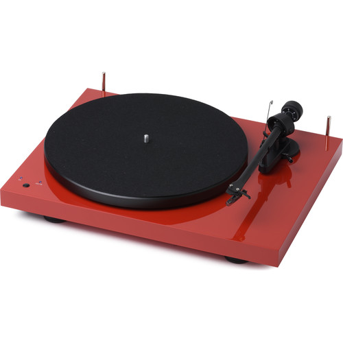 Pro-Ject Audio Systems Debut RecordMaster Turntable (Red)