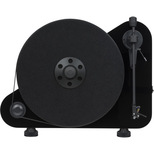 Pro-Ject Audio Systems VT-E BT R Vertical Turntable with Bluetooth (High-Gloss Black)