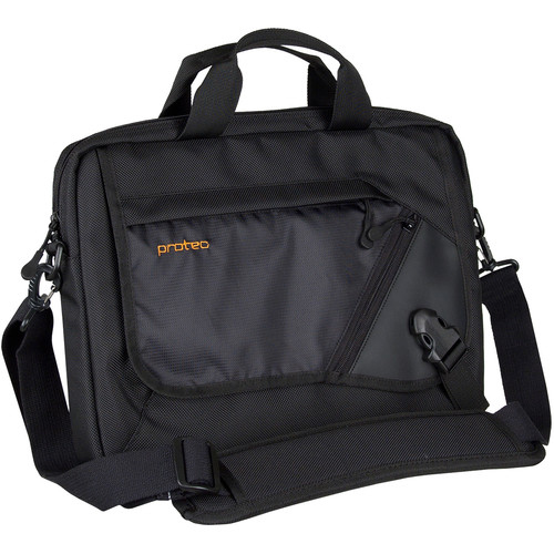 "PRO TEC Slim Messenger Brief for 13.3"" Notebook/Tablet (Black)"