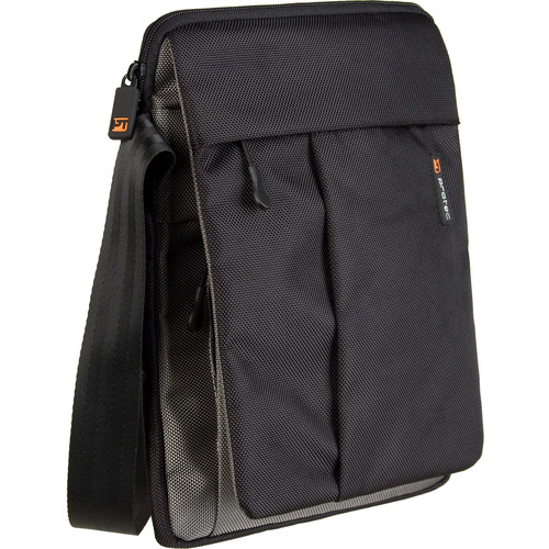 PRO TEC ZIP Messenger Bag for iPad and Tablet (Black)
