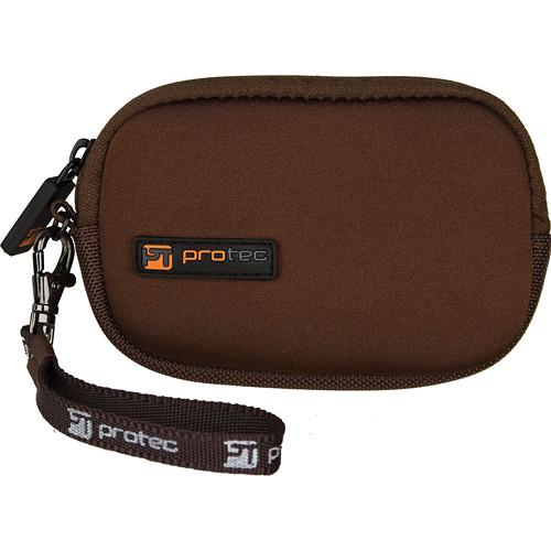 PRO TEC Neoprene Pod Camera Case (Large, Chocolate)