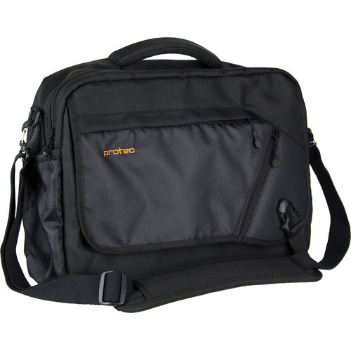 PRO TEC Deluxe Camera Messenger Bag (Black)