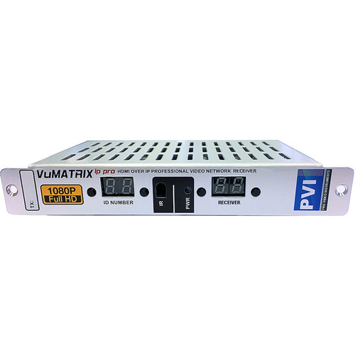 ProVideoInstruments VuMATRIX 1080P Receiver over 1Gigabit IP PRO