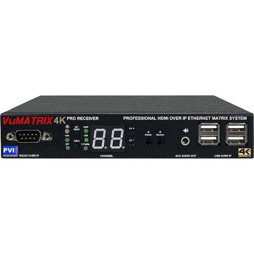 ProVideoInstruments VuMATRIX UHD 4K Receiver over 1Gigabit IP PRO