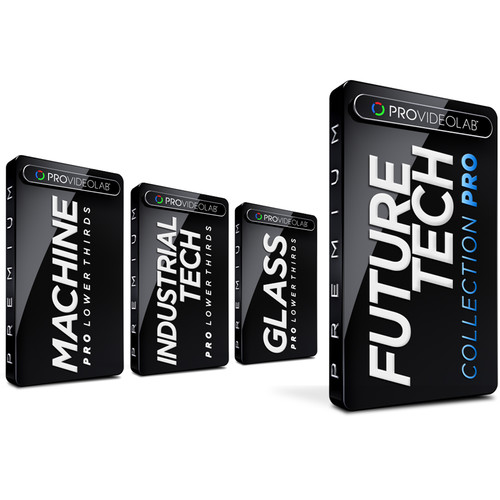 PRO VIDEO LAB Bundled Lower Thirds - Future Tech Collection Pro (Download)