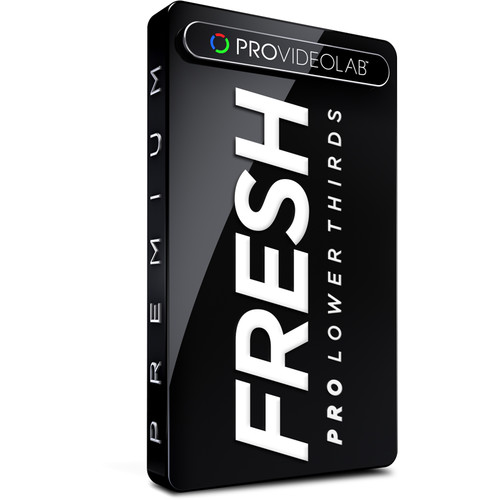 PRO VIDEO LAB Lower Thirds - Fresh (Download)