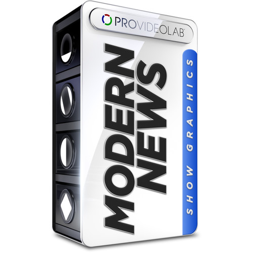 PRO VIDEO LAB Modern News Show Graphics (Download)