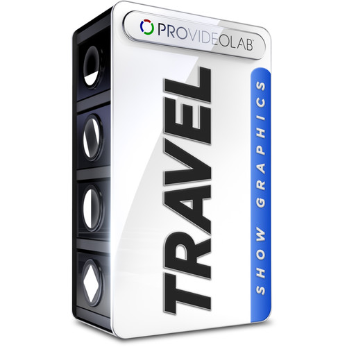 PRO VIDEO LAB Travel Show Graphics (Download)