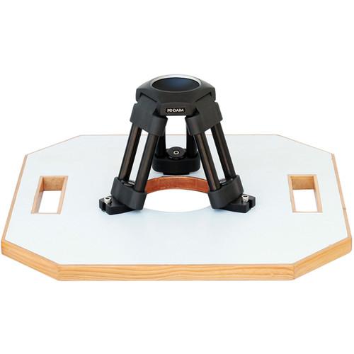 Proaim Heavy-Duty Cinema Hi-Hat with Octagonal Board (75mm)