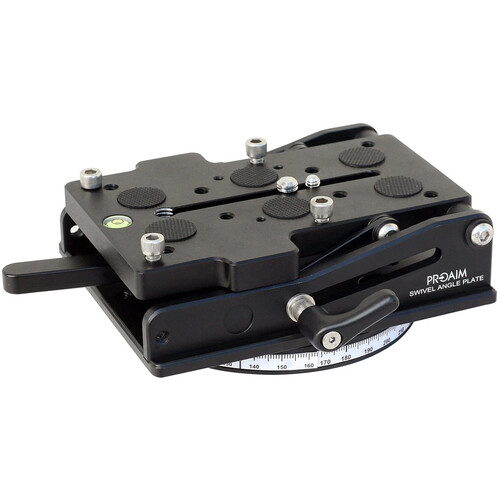 Proaim Locking Swivel Pan/Tilt Wedge Plate
