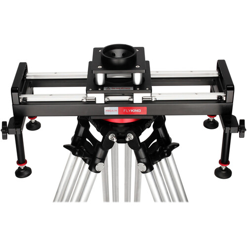 Proaim 2' Flyking Precision Camera Slider with 100mm Bowl Mount & Carrying Case