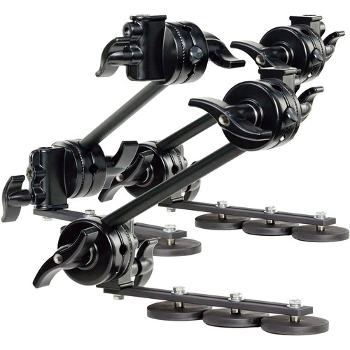 ProAm USA Articulating Triple Magnet Arms With Grip Heads (Set Of 3 Arms)