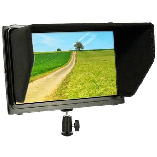 "ProAm USA Iris XL2 10.1"" Dual-HDMI On-Camera LCD Monitor"