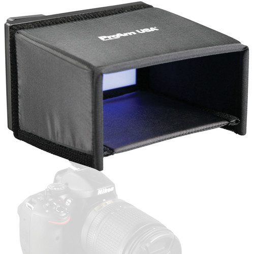 "ProAm USA 7"" Extra Deep LCD Video Monitor Hood / Sunshade"