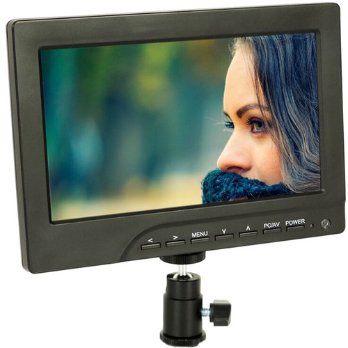 "ProAm USA Iris Pro 7"" On-Camera Monitor Basic Kit"