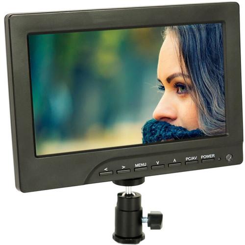 """ProAm USA Iris Pro 7"""" On-Camera Monitor Basic Kit"""