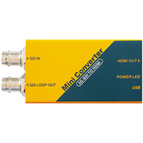 ProAm USA 3G SDI to HDMI Converter Adapter for LCD Monitor Broadcast Video