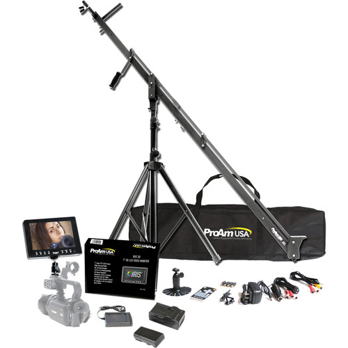 ProAm USA Orion DVC210 8' DSLR Camera Crane Production Package
