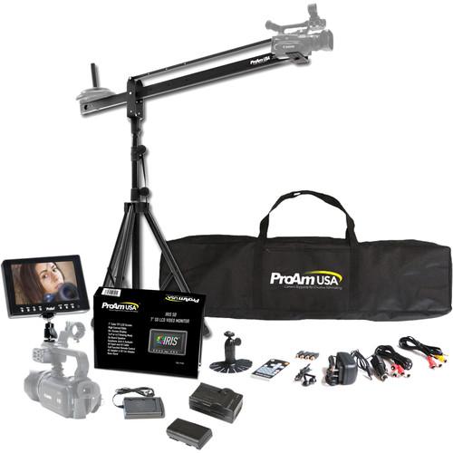 ProAm USA TK50 Orion Jr 4' Camera Crane Production Package