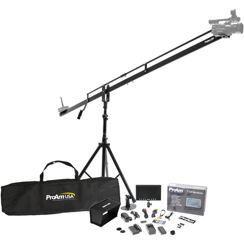 ProAm USA Orion DVC200 8' Camera Crane Student Production Package
