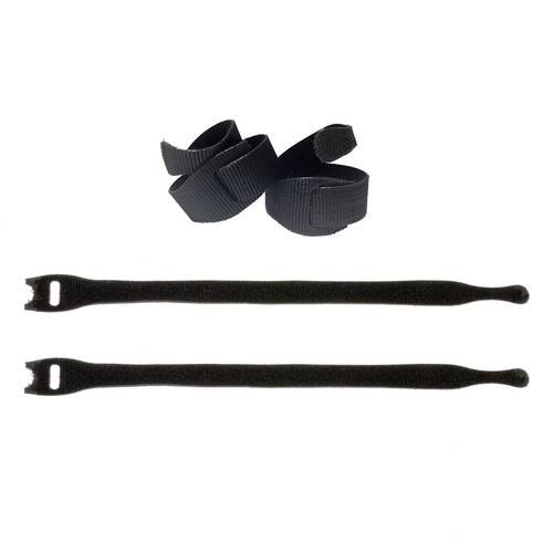 "ProAm USA 8"" Hook-and-Loop Fastener Cable Ties (4-Pack)"