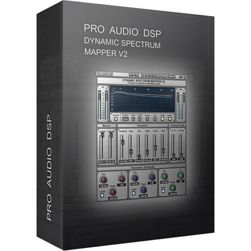 ProAudioDSP DSM-V2 - Dynamic Spectrum Mapper Plug-In (Download)