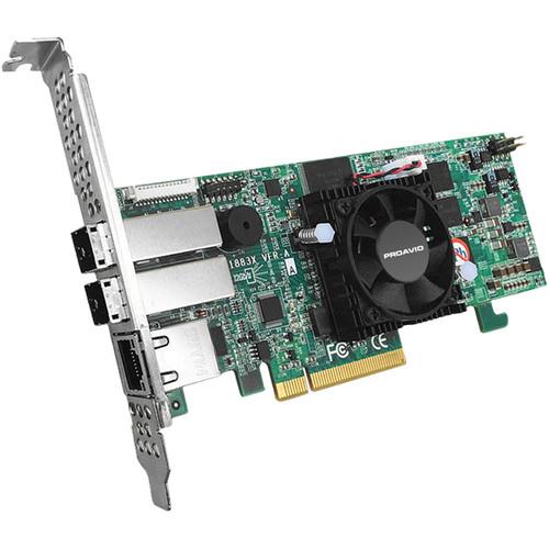 Proavio 8-Port 12 Gb/s PCIe 3.0 SAS/SATA RAID Controller for EB800MSV2