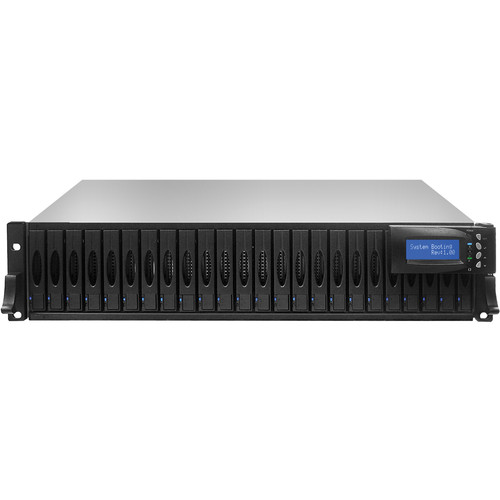 Proavio DS240FS 9.6TB (24 x 400GB) 24-Bay SSD RAID Array with Dual Controllers