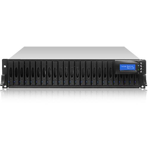 "Proavio DS240FS Series 24-Bay 2.5"" Enterprise SAS SSD Powered SAN Storage Solution (2U, 19.2TB)"