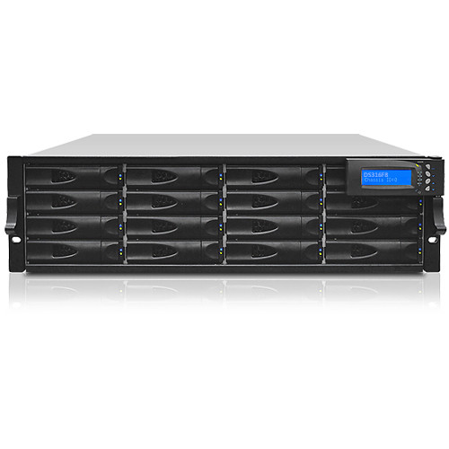 Proavio DS320 16TB 16-Bay Fibre Channel RAID Array with Dual-Active Controllers (16 x 1TB)