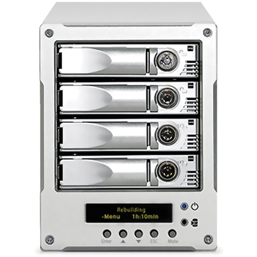 Proavio EB400CR 4-Bay Desktop Mini Storage System