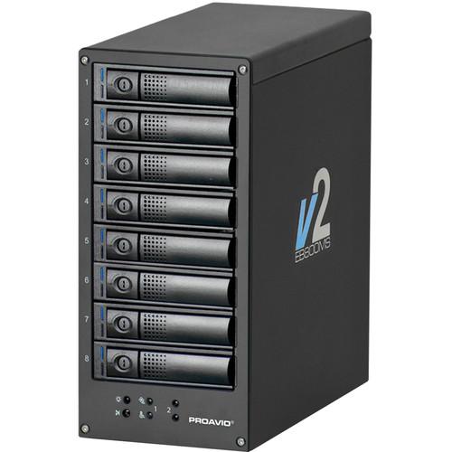 Proavio EB800MS V2 16TB 8-Bay SAS-3 JBOD Array (8 x 2TB)