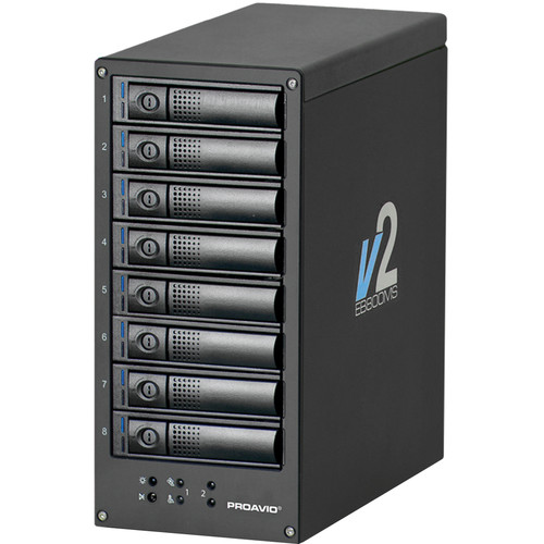 Proavio EB800MS V2 32TB 8-Bay SAS-3 JBOD Array (8 x 4TB)