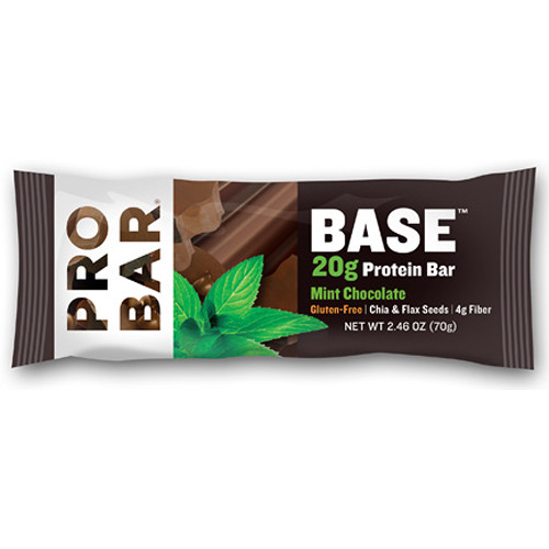 PROBAR Base Protein Bar (Mint Chocolate, 12-Pack)