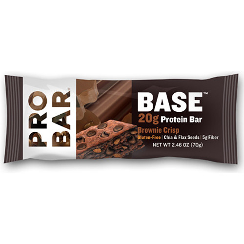 PROBAR Base Protein Bar (Brownie Crisp, 12-Pack)
