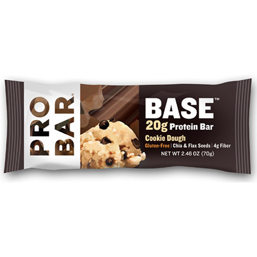 PROBAR Base Protein Bar (Cookie Dough, 12-Pack)