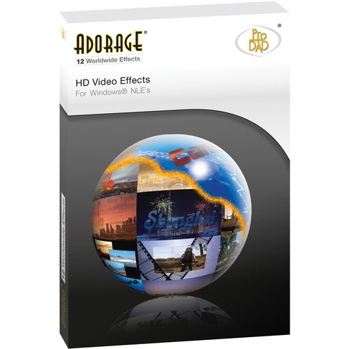 proDAD Adorage Effects Package 12 - HD Worldwide EFX
