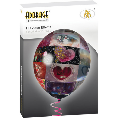 proDAD Adorage Effects Package 13 - HD-Festival and Celebration FX