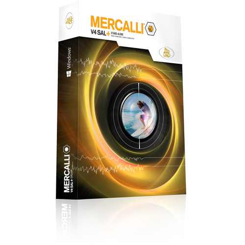 proDAD Mercalli V4 SAL+ Stabilization Software for Windows (Download)