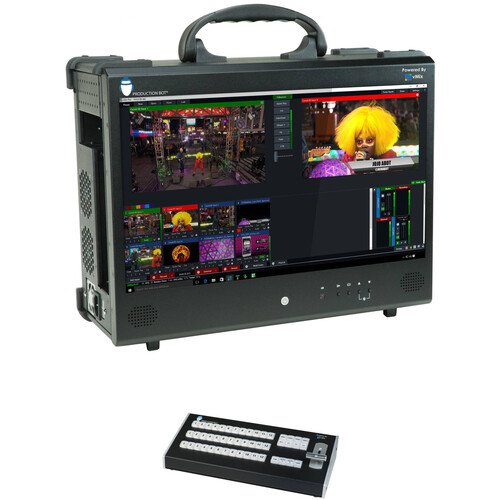 PRODUCTION BOT Switch 4 Portable Live Production Switcher and Control Surface Kit