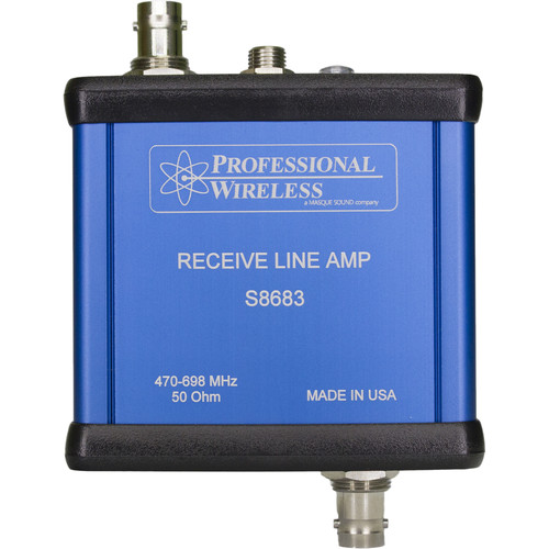 Professional Wireless Systems Receive Line Amp
