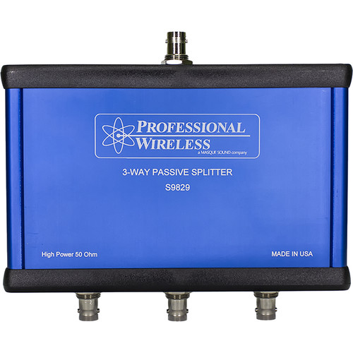 Professional Wireless Systems 3-Way Splitter/Combiner
