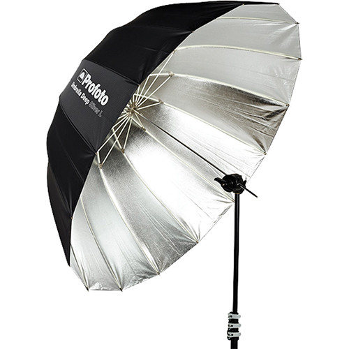 "Profoto Deep Silver Umbrella (Large, 51"")"